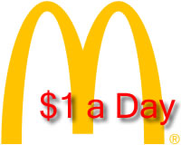 feed the world with mcdonalds